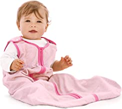 baby deedee Sleep Nest Lite, Sleeping Bag Sack - Heather Pink, M (6-18 Months)