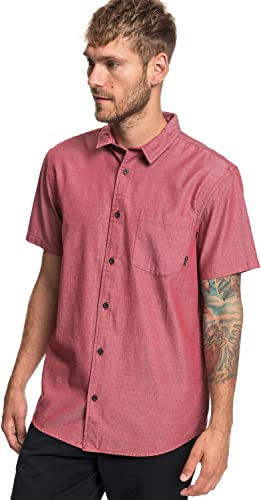 Quikargent Bobs Back - Chemise Manches Courtes - Homme - XXL - Rouge