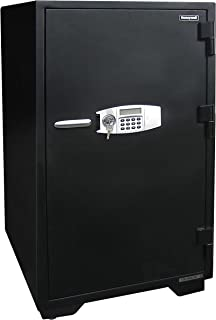 Honeywell Safes & Door Locks 2120 Fireproof and Water Resistant Security Safe with Dual Digital Lock and Key Protection, ...