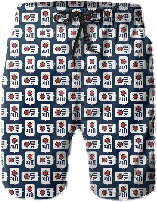 nhnvmksk46u Men's Swim Trunks Quick Dry Funny Shorts Swimwear Bathing Suits Bathing Suit Shorts with Pocket