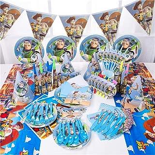 54 Piezas de Dibujos Animados Toy Story servilletas de Papel