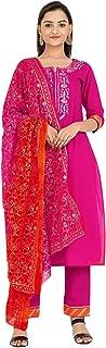 Women's Rayon Indian Ethnic Tunic Top Kurti-Palazzo Set for Women