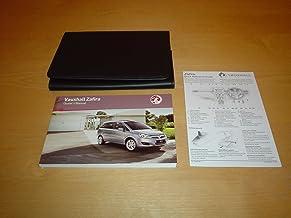 VAUXHALL / OPEL ZAFIRA B OWNERS MANUAL HANDBOOK (2005 - 2011)- 1.6 1.8 2.0 & 2.2 LITRE ENGINE 1.7 1.9 CDTI DIESEL ENGINES - OWNER'S HAND BOOK MANUAL