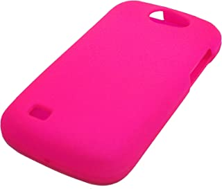 For Samsung Exhibit 2 II 4G T679 / SGH-T679 / Ancora Phone Cover Hard Case + Happy Face Phone Dust Plug (Pink)