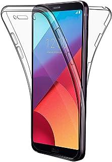 COPHONE Funda LG G6, Transparente Silicona 360°Full Body Fundas para LG G6 Carcasa Silicona Funda Case.