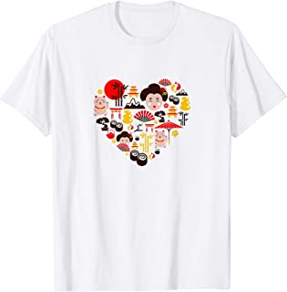 I LOVE JAPAN | Cute Japanese Culture Kawaii Tokyo T-shirt