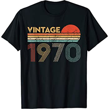 Amazon.com: 50 Year Old Birthday Gift Vintage Classic Born In 1970 ...