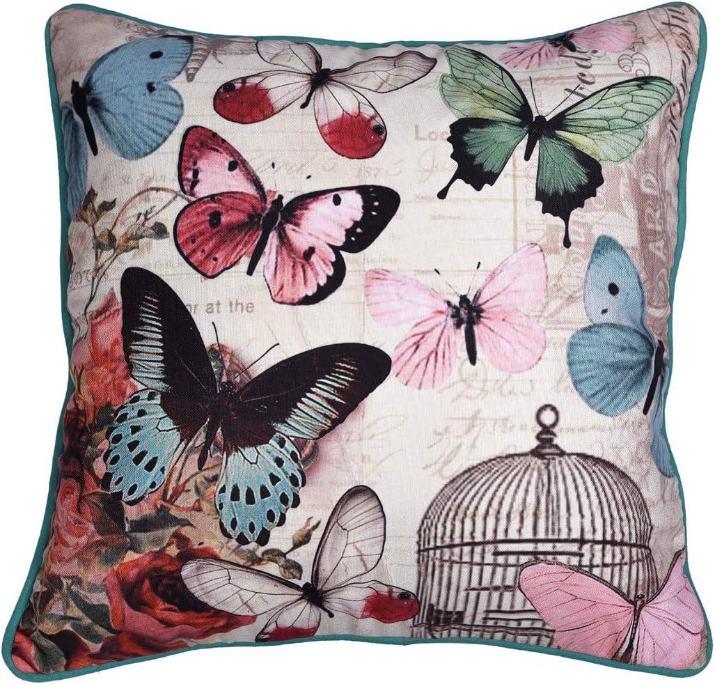 Decozen Decorative Throw Pillow with Insert in 22