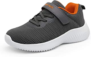 Boys Girls Breathable Tennis Running Shoes Athletic Sport...
