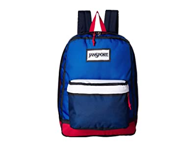 JanSport High Stakes (Red/White/Blue) Backpack Bags