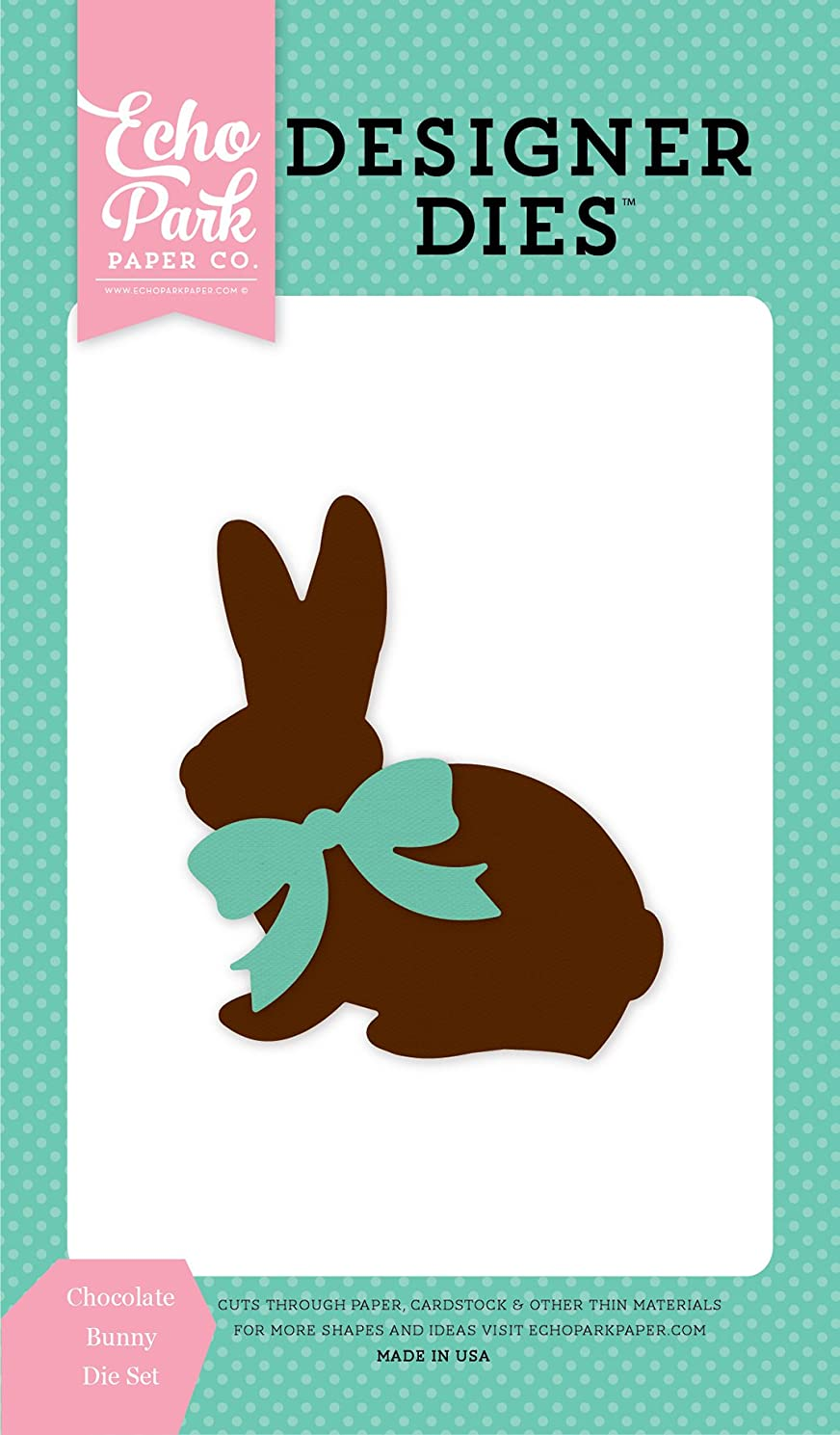 Echo Park Paper Company Chocolate Bunny Die Set
