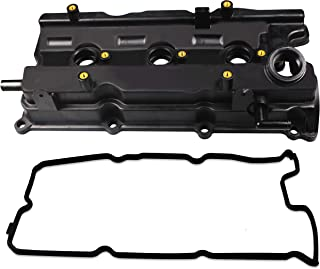 BOXI Valve Cover w/Gasket & Spark Plug Tube Seals Fits Front/Left Bank Of 3.5L Engine 2002-2004 Infiniti I35 02-06 Nissan Altima 02-08 Maxima 03-07 Murano 04-09 Quest (Replaces:13264-8J113)