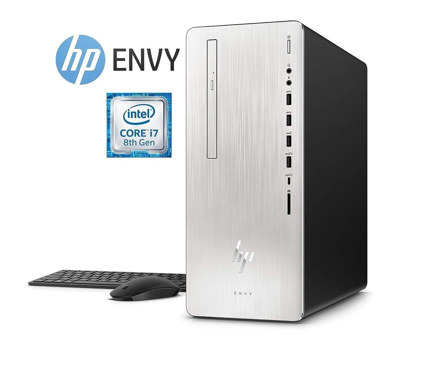 HP Envy 795 Intel Core i7-8700 1TB HDD + 256GB SSD 12GB RAM 4GB Radeon Graphics (Renewed)