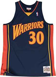 Mitchell & Ness Stephen Curry Golden State Warriors NBA Throwback Jersey - Navy