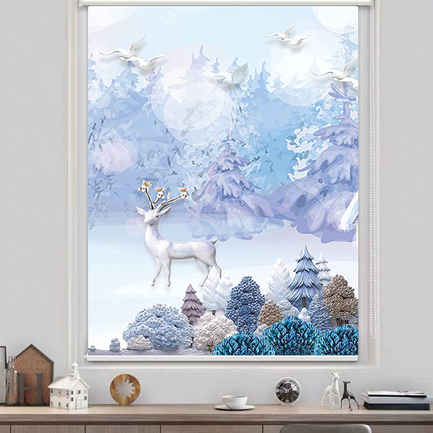 ZWLI Roller New products world's highest quality popular Time sale Blind Opaque Privacy Quick Insta Window Screen