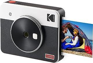 Kodak Mini Shot 3 Retro Cámara instantánea e Impresora fotográfica portátil, iOS y Android, tecnología 4Pass (76 x 76 mm)...