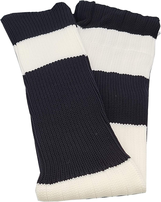 Junior//Mens Made In UK Sutton Sports Big Stripes Football Rugby Premium Socks