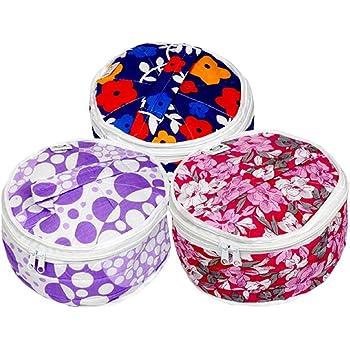Kuber Industries Cotton 3 Piece Roti Cover Set - Multicolour (SCRSCHP33)