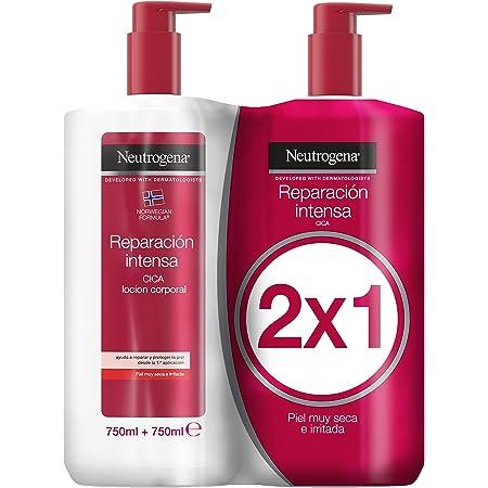 Neutrogena Crema Hidratante Corporal, Reparación Intensa, 2x750ml
