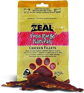 Zeal Free Range Naturals Chicken Fillet Cat & Dog Treats 125g
