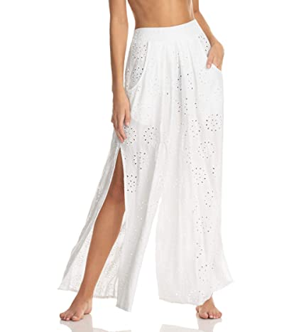 Maaji Whispering Front Sit Pants Cover-Up (White) Women