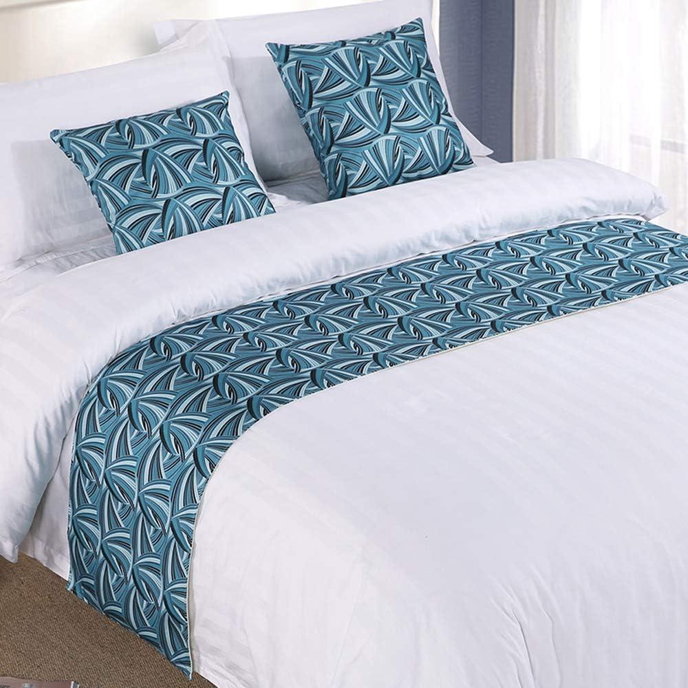 Mengersi Bed Runner Scarf Decorative Nippon regular agency OFFer Protector Sca Slipcover