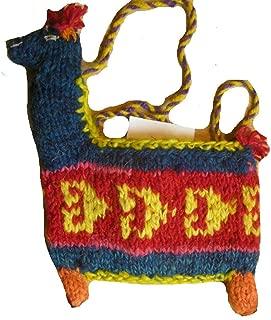 Fair Trade Woolen Llama Shaped Shoulder Bag/Purse [Apparel]
