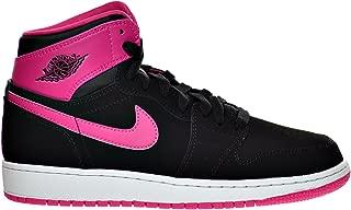 Air 1 Retro High GG Big Kid's Shoes Black/Vivid Pink/White 332148-008