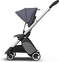 Bugaboo Ant Stahlblau, Ultra-kompakter & klappbarer Kinderwagen mit ergonischem Sitz
