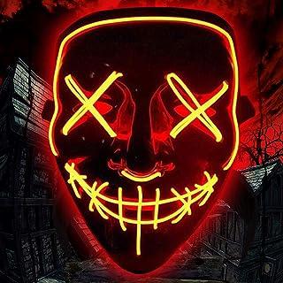 BESTZY Halloween Máscaras, Mascaras de Halloween,Craneo Esqueleto Mascaras,para la Navidad Halloween Cosplay Grimace Festival Party Show,Horror Máscara Halloween Fancy Halloween Costume