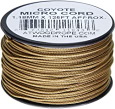 product image for Atwood Rope MFG Micro Cord 125ft Coyote