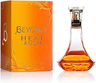 Beyonce Heat Rush for Women Eau De Toilette Spray, 3.4 Ounce, Gold