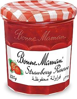 Bonne Maman Jam Strawberry, 225 gm (Pack of 1)