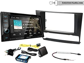 Kenwood DDX376BT Double Din Radio Install Kit With Sirius XM Ready, Pandora Fits 2006-2013 BMW 3 Series