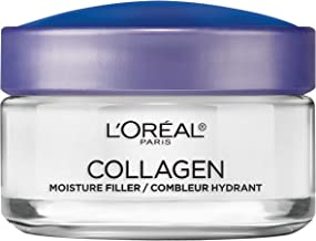 Collagen Face Moisturizer by L'Oreal Paris Skin Care Day and Night Cream Anti Aging Face Cream to Smooth Wrinkles I Non-Gr...