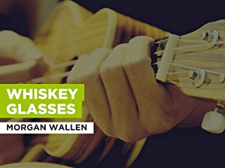 Whiskey Glasses in the Style of Morgan Wallen