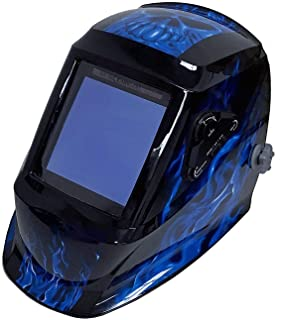 Instapark ADF Series GX990T Solar Powered Auto Darkening Welding Helmet with 4 Optical..
