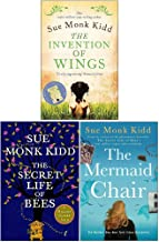 Sue Monk Kidd Collection 3 Books Set (The Invention of Wings, The Secret Life of Bees, The Mermaid Chair)