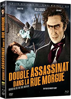 Murders in the Rue Morgue Double assassinat dans la rue Morgue Region A/B/C France