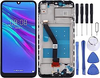 LENASH Byte till Huawei Y6 (2019) / Y6 PRO LCD-pekskärmskärm och digitizer Assembly Glaspekskärmsutbyte med reparationsver...