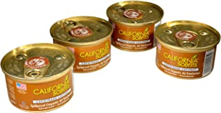 California Scents Air Freshener 4-Pack Car Air Freshener (Capistrano Coconut)