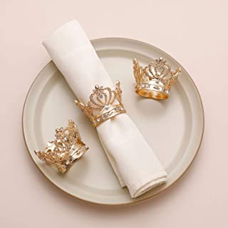 Best crown napkin rings Reviews