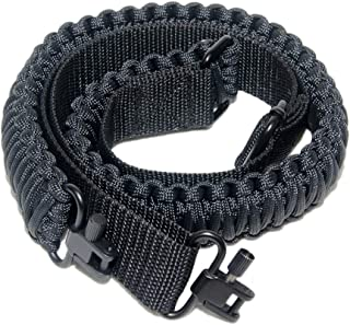 Gun Sling with 550 Paracord Adjustable Strap and swivels for Rifle or Shotgun