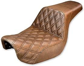 Saddlemen Gripper-Step Up Brown Seat 806-04-172BR