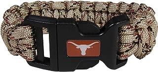 texas longhorn paracord bracelet