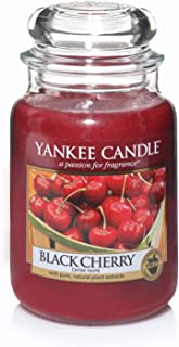 Yankee Candle Large Jar Candle, Black Cherry