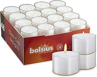 BOLSIUS Teelicht 48St weiss