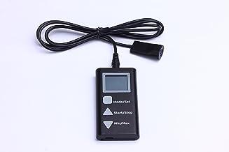 PerfectPrime TH1165BK Micro USB Medidor de datos de humedad de temperatura de alta precision (color negro) con sonda externa para almacenamiento, logistica, uso domestico