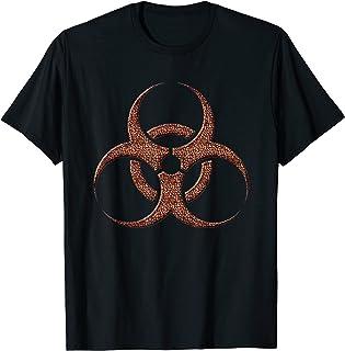 Les haricots toxiques radiations Biohazard Café T-Shirt