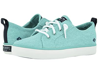 Sperry Kids Crest Vibe (Little Kid/Big Kid) (Turquoise) Girls Shoes